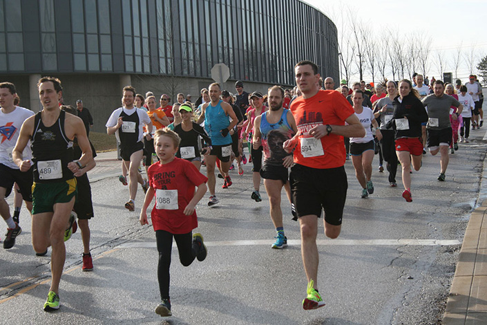 37th Annual Valentine's Labor of Love 2 Mile Run